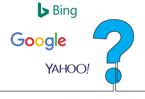 Logos of different search engines